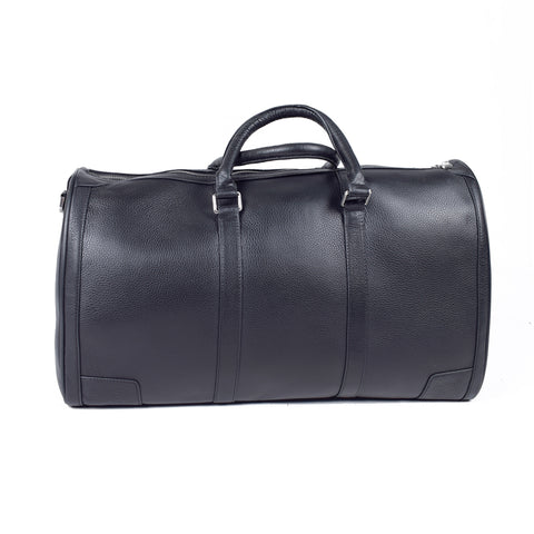 Black Genuine Leather Overnight Bag - GL-2399 - All Bags Online
