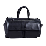 Black Genuine Leather Overnight Bag - GL-8861 - All Bags Online