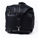 Black Genuine Leather Overnight Bag - GL-89137 - All Bags Online