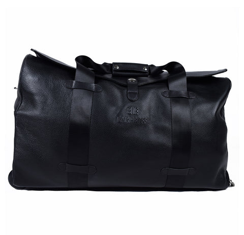 Black Genuine Leather Overnight Bag - GL-879211 - All Bags Online