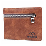 Mens Wallet - Tan- LF-ZP-132 - All Bags Online