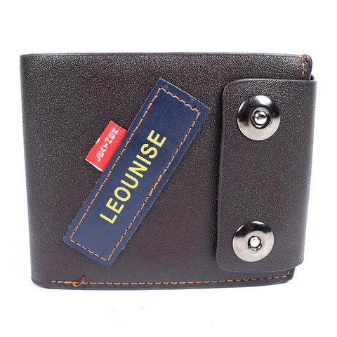 Mens Wallet - Chocolate- LF-ZP-2061 - All Bags Online