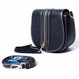 Black Sling Bag with Tassel – AB-H-7637 - All Bags Online