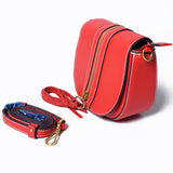 Red Sling Bag with Tassel – AB-H-7637 - All Bags Online