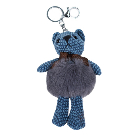 Copy of ACC-4091 - Navy Teddy Keychain - All Bags Online