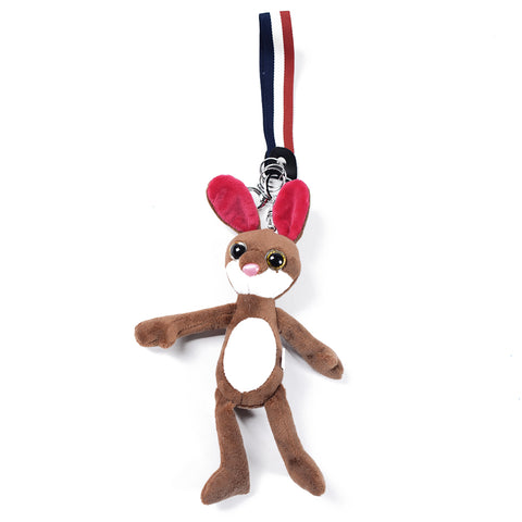 Tan Rabbit Keychain AB-ACC-4096 - All Bags Online