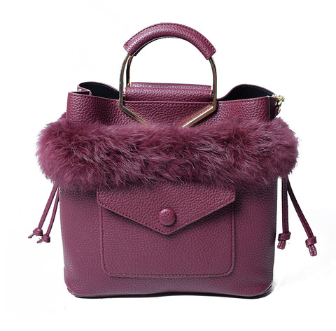 Burgundy Bag - AB-H-833 - All Bags Online