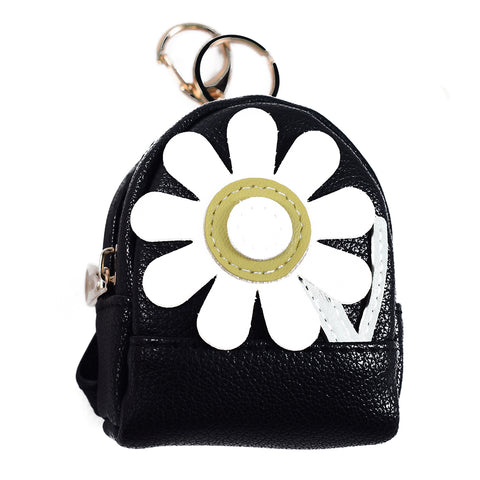 ACC-3056 - Black Coin Purse Keychain - All Bags Online