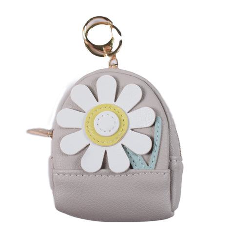 Copy of ACC-3056 - Grey Coin Purse Keychain - All Bags Online