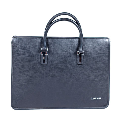 Black Genuine Leather Laptop Bag- GL - 93056 - All Bags Online