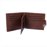 Mens Wallet - Tan- LF-ZP-17-2061 - All Bags Online