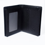 Mens Genuine Leather Wallet - Black -LF-7005 - All Bags Online