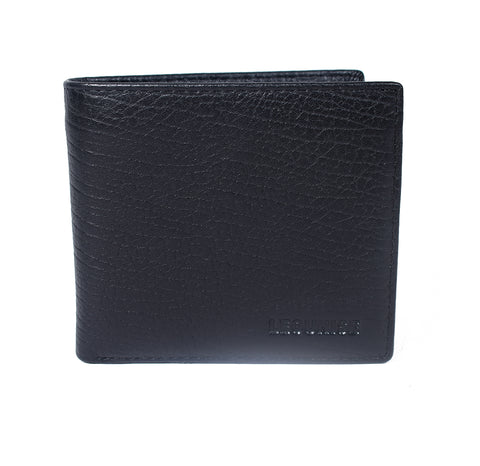 Mens Genuine Leather Wallet - Black -LF-8001 - All Bags Online