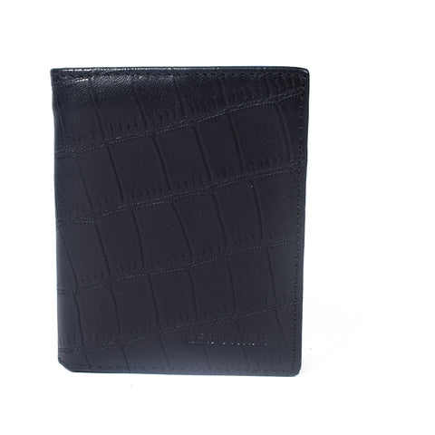 Mens Genuine Leather Wallet - Black -LF-3428 - All Bags Online