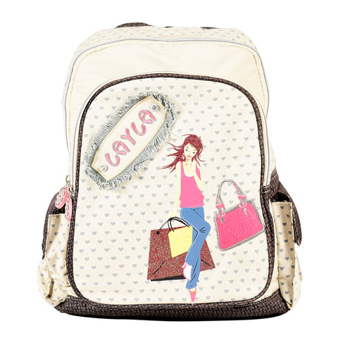Layla Kiddies lightweight backpack - DK-1044 - All Bags Online
