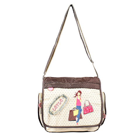 Kiddies lightweight sling bag with Layla branding - DK-1040 - All Bags Online