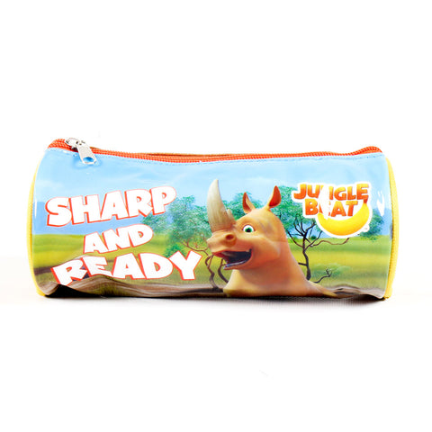Jungle Beat Pencil Case - Colourful - Patent - JB-P-113 - All Bags Online