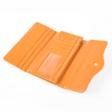 Trifold Wallet - Orange - Studded - Smooth Texture - All Bags - JP-W-06 - All Bags Online
