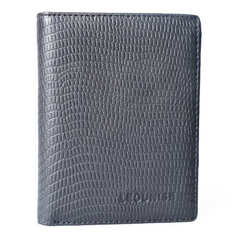 Mens Genuine Leather Wallet - Black -LF-5056 - All Bags Online