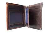 Mens Wallet - BROWN - LF-ZP-120 - All Bags Online