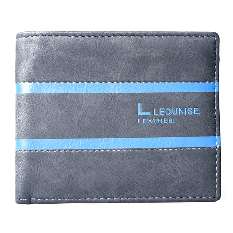 Mens Wallet - Black - LF-ZP-127 - All Bags Online