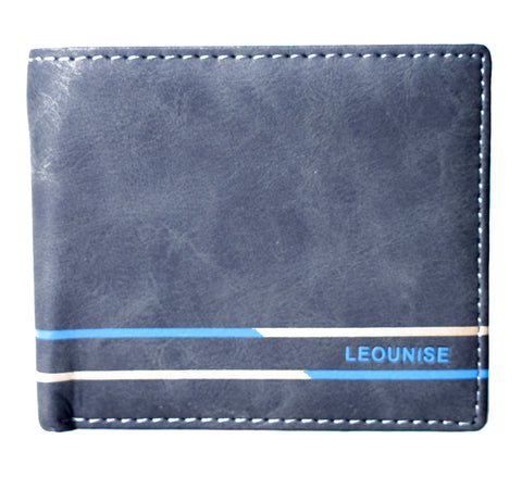 Mens Wallet - Black - LF-ZP-128 - All Bags Online