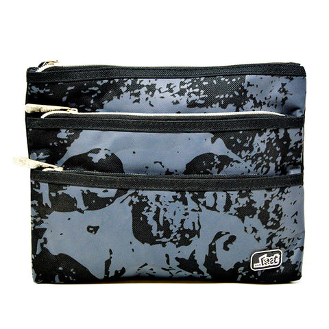Lost Boy - Black & Grey - Pencil Case - LS-P206-BY - All Bags Online