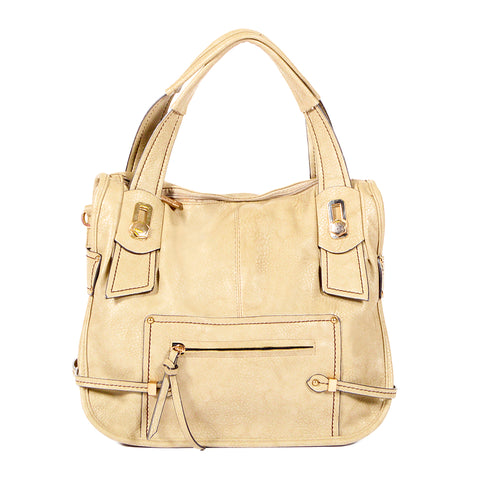 Semi-structured - Camel - Smooth Material - All Bags - OH-5033 - All Bags Online