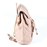 Stylish, Casual Mink Coloured Backpack - Allbags - PB-H-61747 - All Bags Online