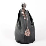 Smooth Black Hobo bag - PB-H-61861 - All Bags Online