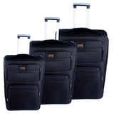 Black Luggage Set - AB-L-3001 - All Bags Online