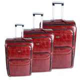Red Luggage Set - AB-L-4001 - All Bags Online
