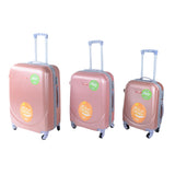 Peach Luggage set - PA-360-28 - All Bags Online