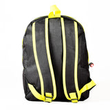Green & Black School Backpack - WAB-5298B - All Bags Online