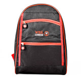 Red - Black - School - Backpacks - WAB-6603B - All Bags Online
