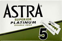 Astra Green Superior Platinum Double Edge Razor Blades