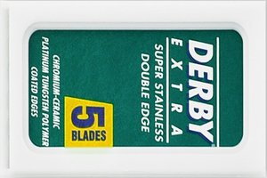 Derby Extra/Platinum Double Edge Razor Blades