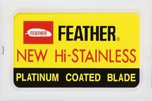 Feather Hi-Stainless Platimum Double Edge Razor Blades