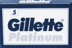 Gillette Platinum Double Edge Razor Blades