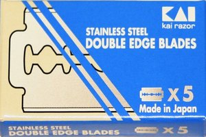 Kai Stainless Double Edge Razor Blades