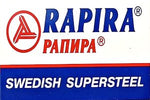 Rapira Swedish Supersteel Double Edge Razor Blades