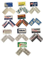 Top Quality Double Edge Razor Blades Sampler - 20 Blades