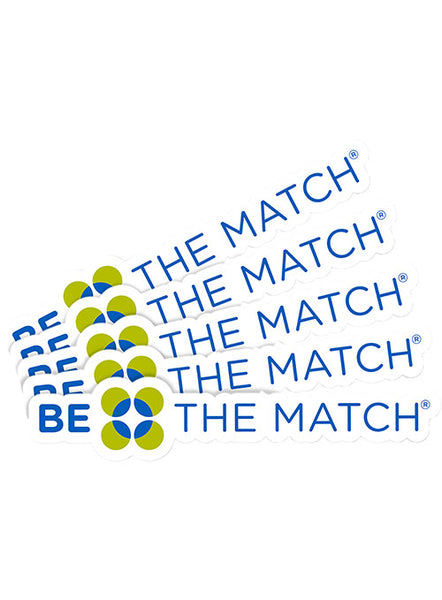 10 Pack Be the Match® Laptop Decal