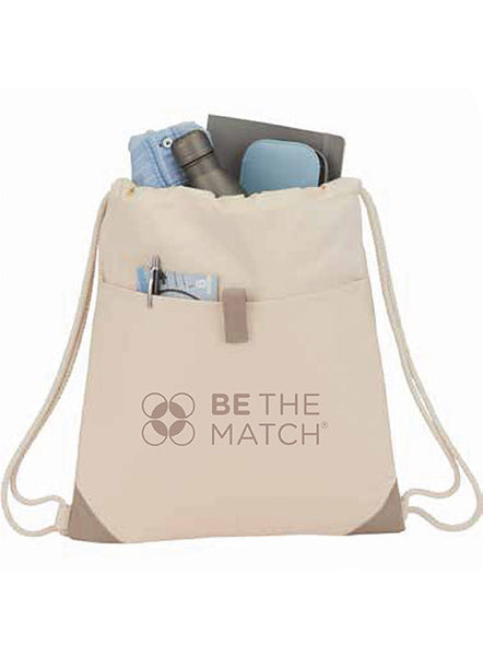 Be The Match® Recycled Cotton Cinch Bag