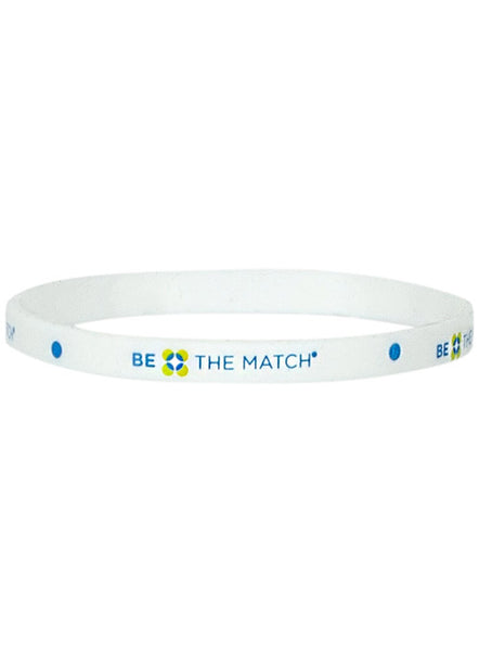 Be the Match® Silicone Wristband