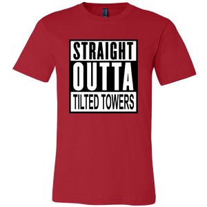 Fortnite Straight Out of Tilted Towers - Outskirts T-Shirts