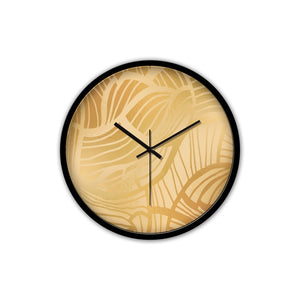 Gold Wall Clock with Modern Design