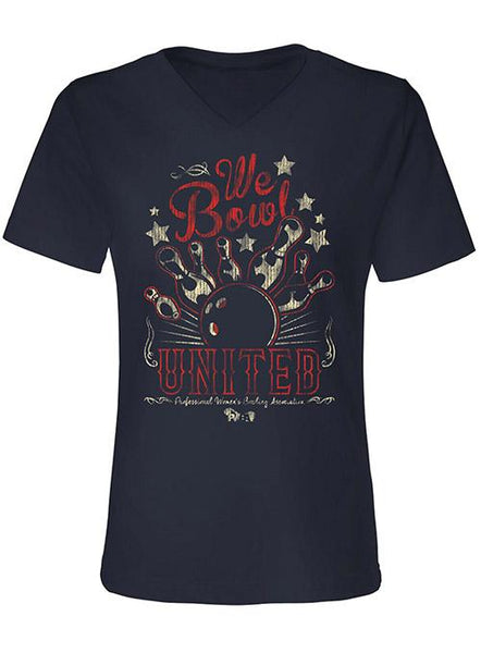 We Bowl United Ladies Shirt