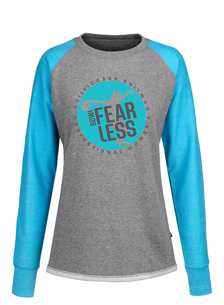 PWBA Ladies Raglan Crew