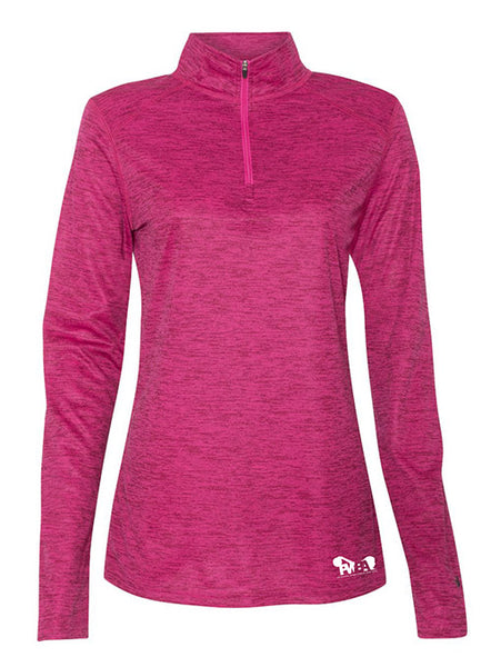 PWBA Hot Pink Quarter Zip